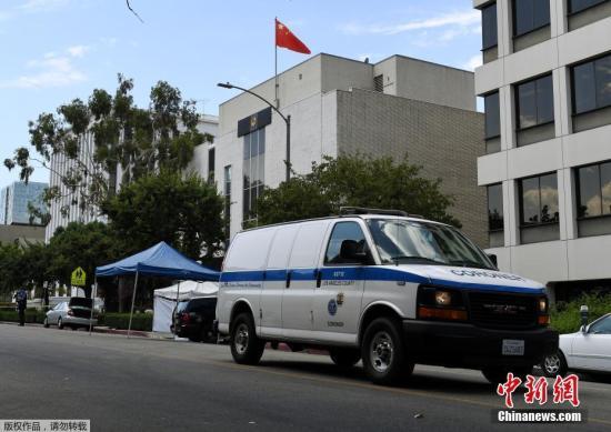 美警方:中国驻洛杉矶总领馆枪击案枪手系中国公民