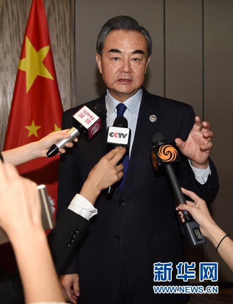 王毅:遏阻朝核导开发与尽快恢复和谈两者不可偏废