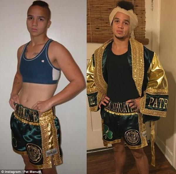 美国历史上首位变性拳击手述说心路历程