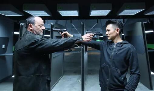 刘德华伤后复工:我的打戏没有《战狼2》厉害