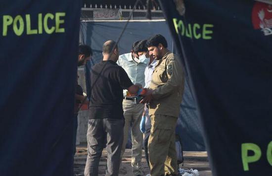 巴基斯坦拉合尔发生爆炸 至少22人受伤