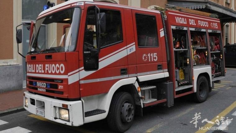 Asti一家华人餐厅在准备晚餐时发生火灾