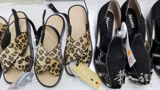 中国鞋子冒充意大利产鞋子 Pistoia2名华商被控