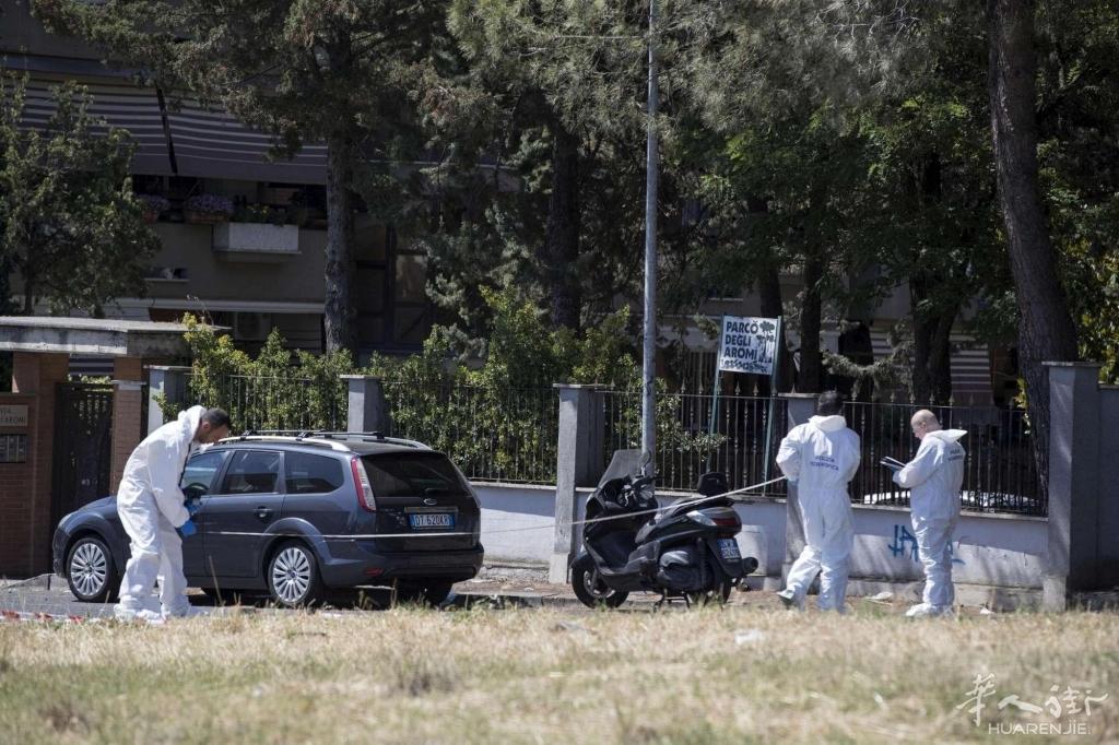 罗马劫匪抢劫家乐福员工,被警察打成1死1伤!
