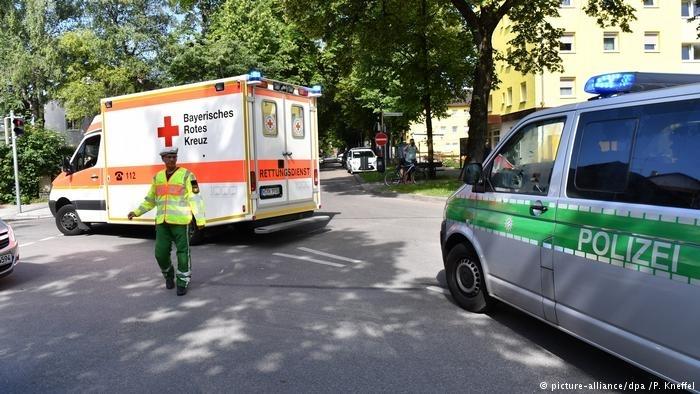 慕尼黑发生枪击案,警员头部中枪