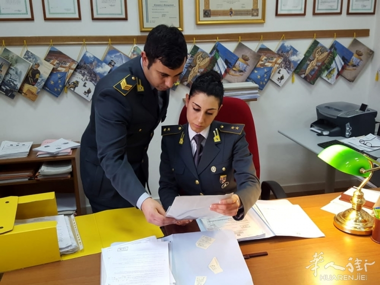Ravenna一华人涉用180万欧假发票漏税 被控及扣押2套房产