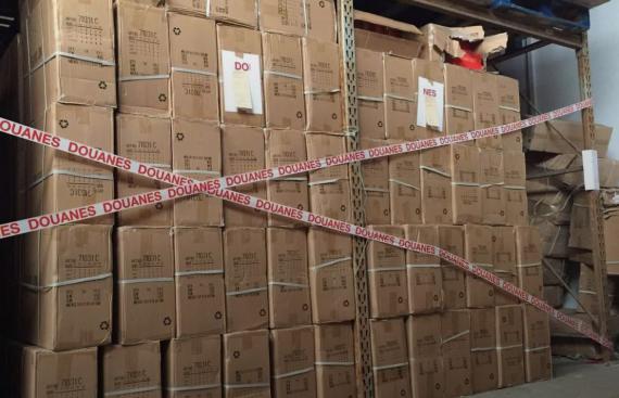 法国海关查货4万双假冒耐克、阿迪运动鞋