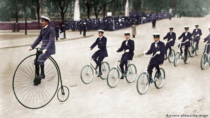 漫话自行车诞生200年