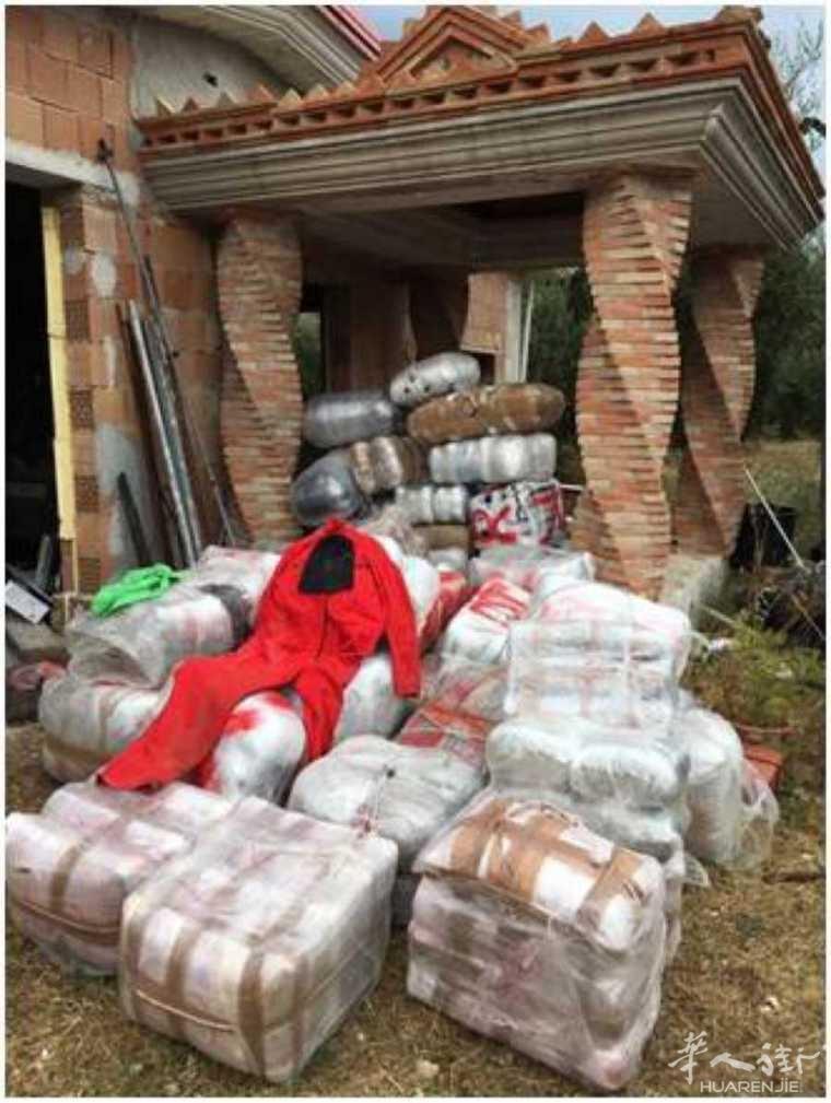 福贾省警方查获数量惊人毒品,共计1吨!