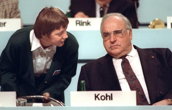 你不知道的德国前总理科尔:爱吃烤鸭 提携默克尔