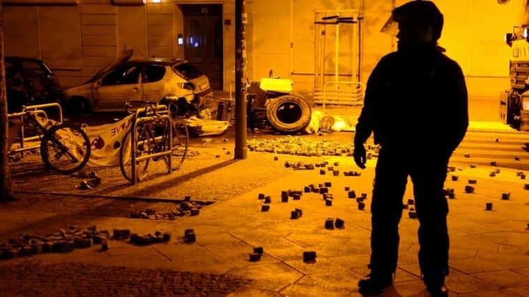 柏林街边出现严重暴力事件