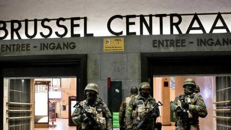 6月20日晚间布鲁塞尔中央火车站发生小型恐怖爆炸