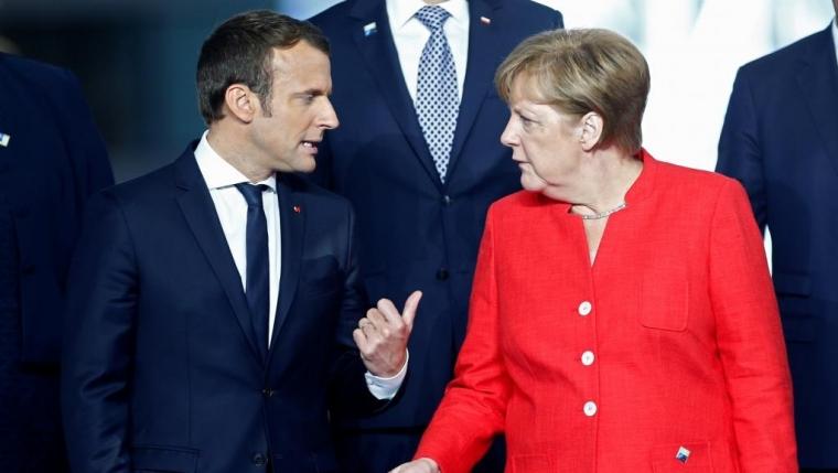 马克龙首临欧盟峰会 吁建保护欧洲人的欧洲
