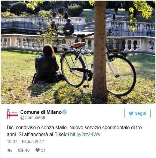 """""""共享单车""""7月登陆米兰!"""