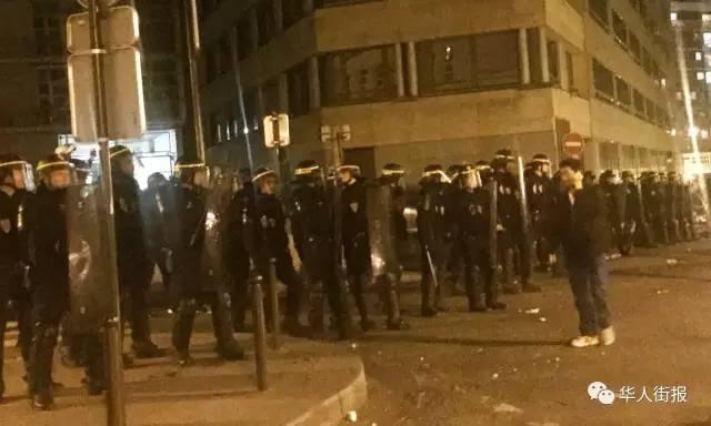 巴黎警民大冲突中被控华人 陈小武首获判决无罪释放