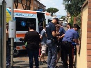 普拉托华人街发生血案 一华人在工场里被刺伤后背