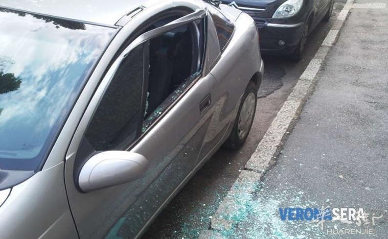 一华人报警抓获在维罗纳医院停车场砸窗盗窃的贼