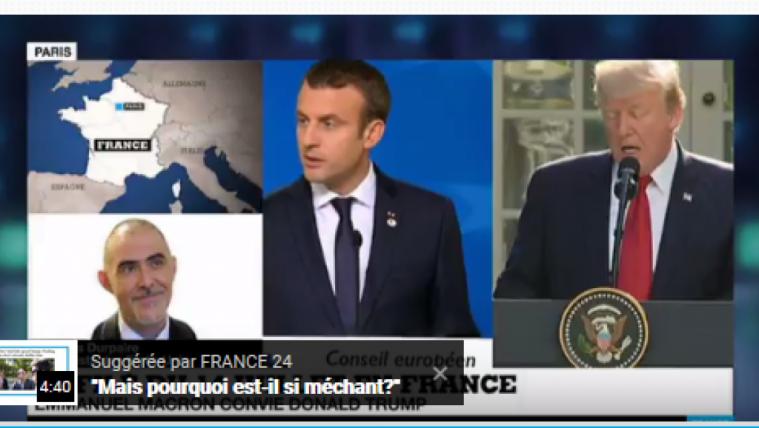 美总统将参加法国国庆庆阅兵 马克龙重建法国国际领袖地位