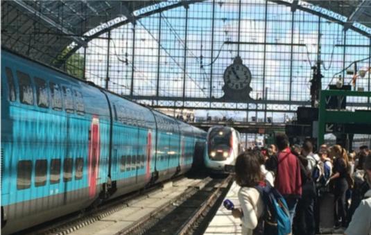 新高铁贯穿巴黎-波尔多、雷恩,带来更舒适乘车体验