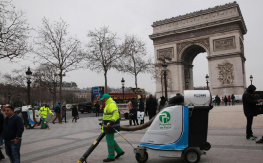 巴黎下狠心了,再乱扔垃圾就罚哭你!