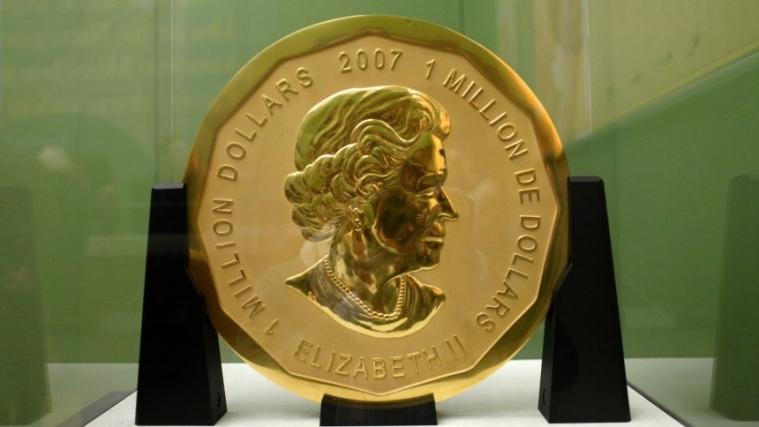 柏林100公斤金币失窃,警方悬赏5000欧元