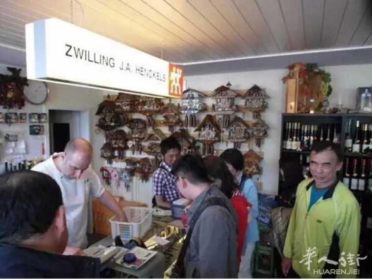 中国人在德国到底买了些什么? 德媒去逛了趟免税店