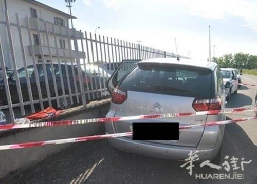 米兰一名女子将自己1岁的女儿落在车内被警方救下