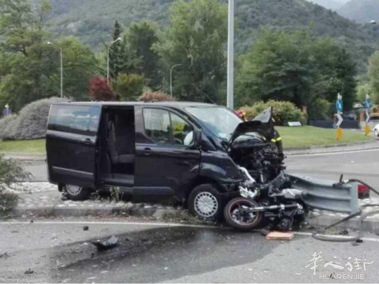 货车故意撞翻摩托车再碾压2人! 女大学生当场死亡, 男友重伤