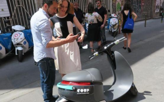 共享经济:又一家自助摩托车租赁入驻巴黎