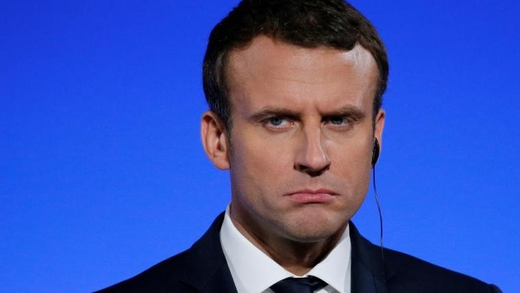 法国总统总理民意支持双双下降 不满度上升