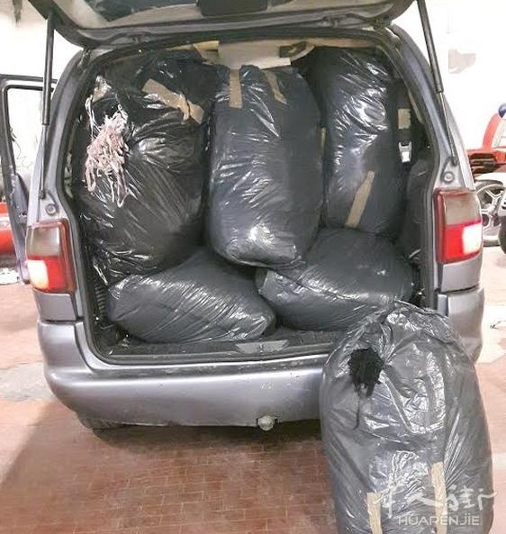 普拉托查获非法运载废料 2名意大利人和1名华人被控