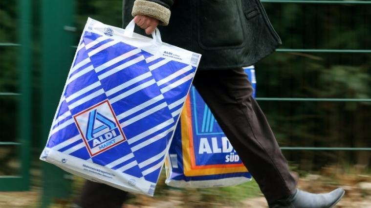 Aldi开始将会对透明塑料袋收费