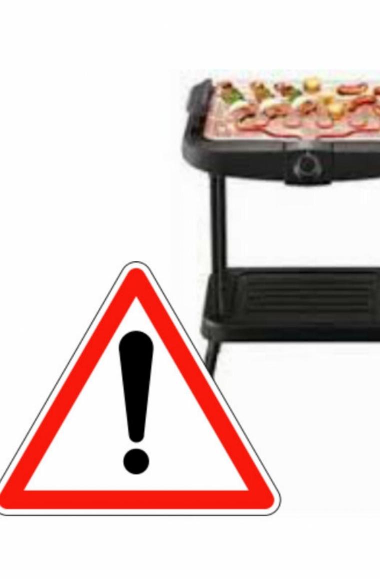 家乐福召回三款烧烤架,因有触电风险