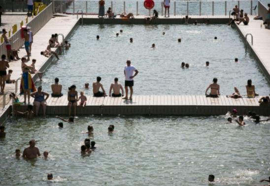 """La Villette泳池""""细菌门""""后重新开放!"""