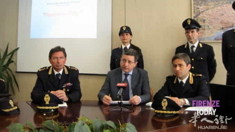 佛罗伦萨一名涉嫌是负责贩毒组织账目的22岁华人女子被捕