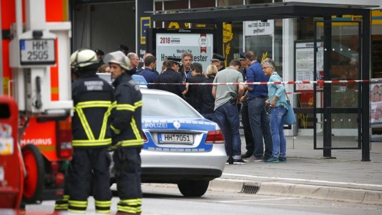 汉堡砍人凶手申请避难被拒 更多情节被曝光