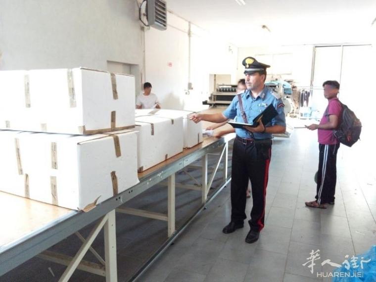 曼多瓦因黑工问题一华人老板娘被捕,企业罚款6万欧