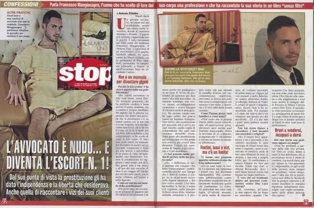 意大利最贵的职业男妓出书了!