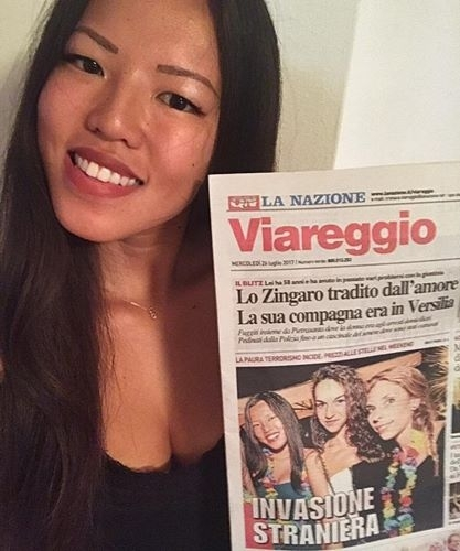 意大利报纸现《外族入侵》标题 华裔女孩写信反驳