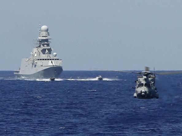 意大利政府通过利比亚军事行动提议:7天内派军舰进入利比亚海 ...