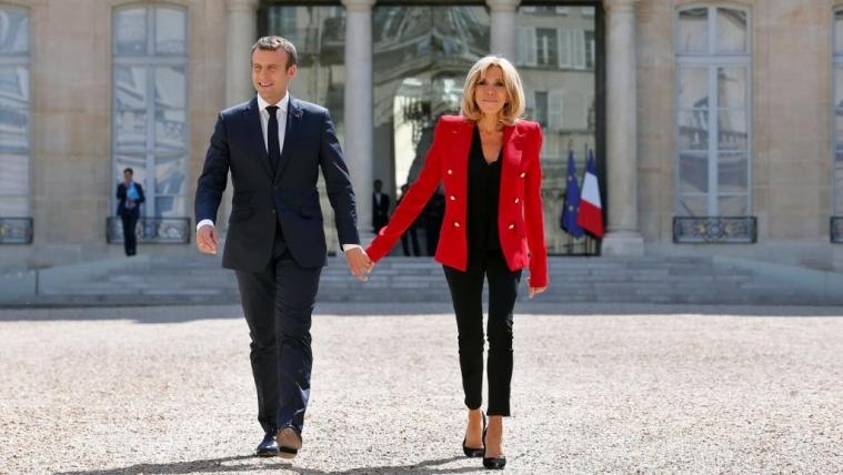 """法国反对马克龙立法""""第一夫人""""地位签名人数超过16万"""