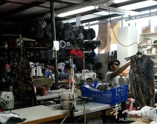 都灵一家意大利人纺织厂被查出10名黑工,工厂因此被关闭