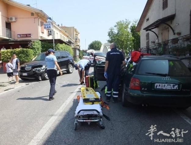 Reggio省一华人驾车与另一辆车相撞 对方两人受伤