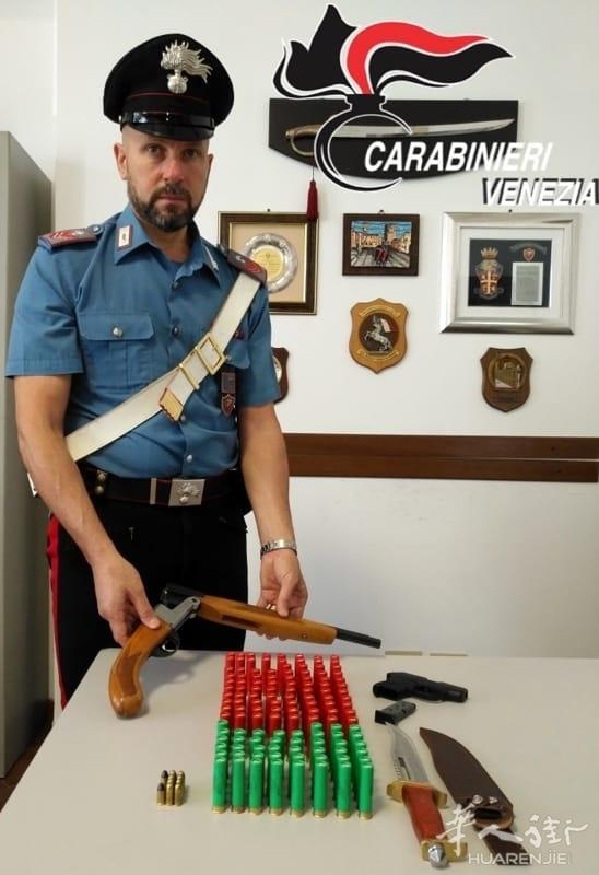 Mestre一华人酒吧老板因非法持有失窃枪械 被捕