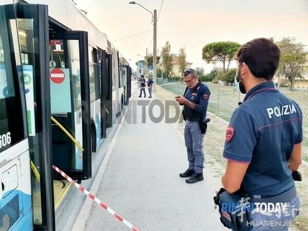 controllore accoltellati autobus linea 11 start romagna polizia rilievi 11 sette.jpg