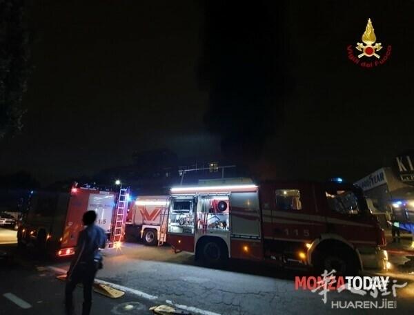 Incendio a Monza i soccorsi 4.jpg