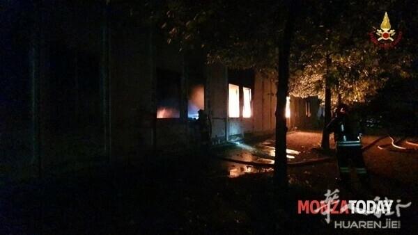 Incendio a Monza i soccorsi 3.jpg