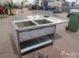 定制不锈钢桌子,柜子,水槽等等