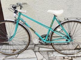 二辆女款自行车,如图,状态很好,非常新,有意者可致电。