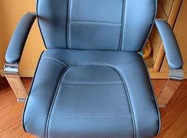 全新未开封皮质悬臂椅/办公椅/电脑椅,原价120,特价40欧